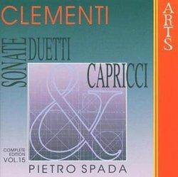 Muzio Clementi: Sonate, Duetti & Capricci, Vol. 15