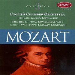 Mozart: 3 Concertos