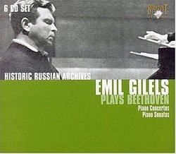 Emil Gilels Plays Beethoven (Box Set)