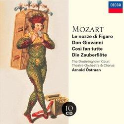 Mozart Operas (Le nozze di Figaro / Don Giovanni / Così fan tutte / Die Zauberflöte) / The Drottningholm Court Theatre Orchestra & Chorus / Arnold Östman