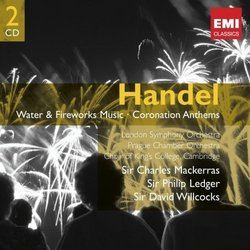 Handel: Water and Fireworks Music - Coronation Anthems (2 CDs)