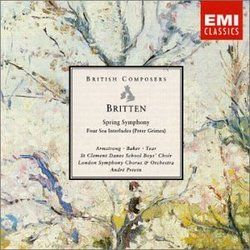 Spring Symphony Op 44 / 4 Sea Interludes from Peter Grimes