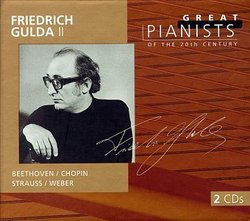 Friedrich Gulda: Great Pianists of 20th Century Vol. 2