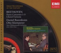 Beethoven: Piano Concertos 1-5; Choral Fantasia