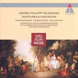 Telemann: Overtures & Concertos