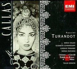 Puccini: Turandot (Complete Opera) Maria Callas; Elisabeth Schwarzkopf: Eugenio Fernandi; Tullio Serafin