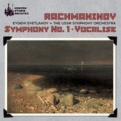 Rachmaninov: Symphony No. 1/Vocalise