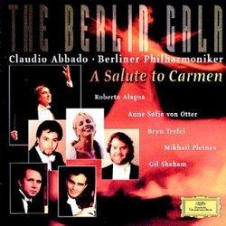 The Berlin Gala ~ A Salute to Carmen / Alagna, von Otter, Terfel, Pletnev, Shaham, Berlin Phil., Abbado
