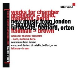 Vol. 2-Earle Brown Contemporary Sound Series