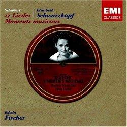 Schubert: 12 Lieder; Moments musicaux