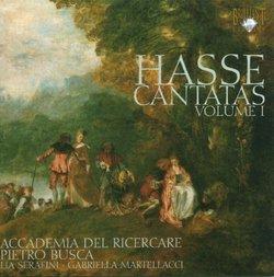 Hasse: Cantatas Volume 1