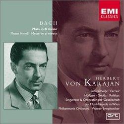 Bach: Mass in B minor / Schwarzkopf, Ferrier, Hoffgen, Gedda; Karajan