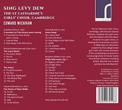 St. Catharine's Girl's Choir, Cambridge: Sing Levy Dew