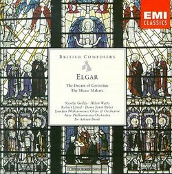 Elgar: The Dream of Gerontius - The Music Makers / Gedda, Watts, Lloyd, Baker; Boult