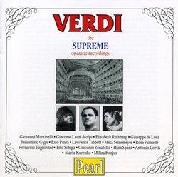 Verdi: The Supreme Opera Recordings