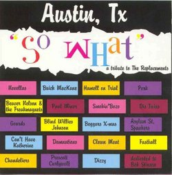 So What: A Tribute to the Replacements, Austin, TX