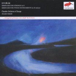 Dvoràk: Serenade for Strings in E; Serenade for Wind Instruments in D minor [25th Anniversary Edition]