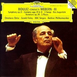 Conducts Webern 2