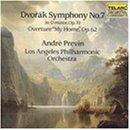 """Dvorak: Symphony No. 7; Overture """"My Home"""""""