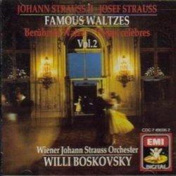 Willi Boskovsky conducts Famous Waltzes of Johann and Josef Strauss Volume 2 (EMI)