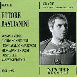 Ettore Bastianini in Recital