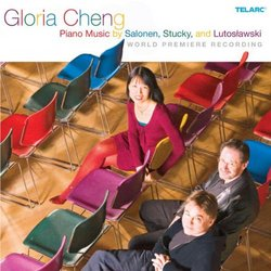 Piano Music of Salonen, Stucky & Lutoslawski