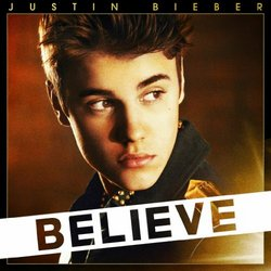 """Justin Bieber- Believe DELUXE LIMITED EDITION CD / DVD Set - Includes """"Beleive"""" DVD featuring scenes from Justin's tour, The making of the album and Behind the scenes at the """"Boyfriend"""" video shoot"""