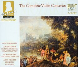 Mozart 250 Years The Masterworks: The Complete Violin Concertos
