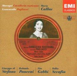 Mascagni: Cavalleria Rusticana & Leoncavallo: Pagliacci (complete operas) with Maria Callas, Giuseppe di Stefano, Tito Gobbi, Tullio Serafin, Chorus & Orchestra of La Scala, Milan