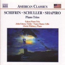 Schifrin/Schuller/Shapiro: Piano Trios