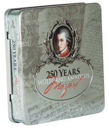 Forever Mozart: 250 Years of Wolfgang Amadeus Mozart [Collector's Tin] [Box Set]