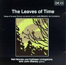 The Leaves of Time - Songs of the Great German Composers sung in english translations by Leslie Minchin