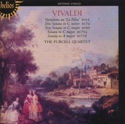 """Vivaldi: Variations on """"La Folia"""" and Other Sonatas"""