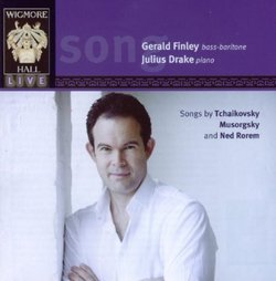 Songs by Tchaikovsky, Musorgsky and Ned Rorem