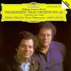 Mozart: Violin Concertos Nos.3 & 5