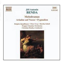 Benda, J.A.: Ariadne Auf Naxos / Pygmalion