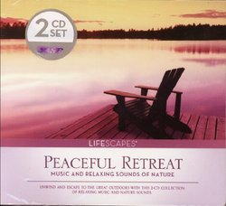 Lifescapes Peaceful Retreat - Music and Relaxing Sounds of Nature 2 CD Set