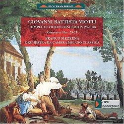 Giovanni Battista Viotti: Violin Concerto Nos. 29 and 21