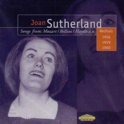 Joan Sutherland: Songs from Mozart, Bellini, Haydn, Handel, Donizetti