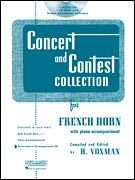 Rubank Concert And Contest For F Horn - Accompaniment CD