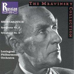 Shostakovich: Symphony No. 5 / Symphony No. 6 [The Mravinsky Collection]
