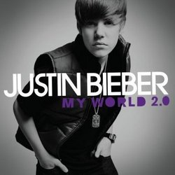 """My World 2.0 Deluxe Edition CD With Exclusive Bonus Track """"""""Where Are You Now?"""""""" and Video """"""""Baby"""""""" Plus Wallpaper, Images & Special Packaging"""
