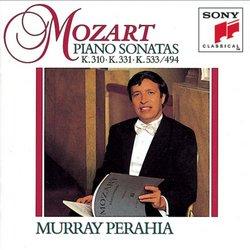 Mozart: Piano Sonatas K.310, 331 & 533/494