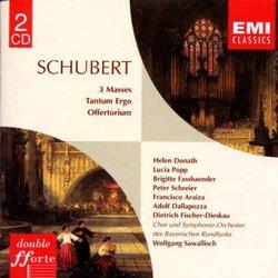 Schubert - 3 Masses ~ Tantum Ergo ~ Offertorium/ Donath, Popp, Fassbaender, Schreier, Araiza, Dallapozza, Fischer-Dieskau, Sawallisch