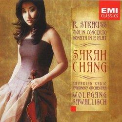 Sarah Chang ~ Strauss - Violin Concerto, Sonata in E flat / Sawallisch