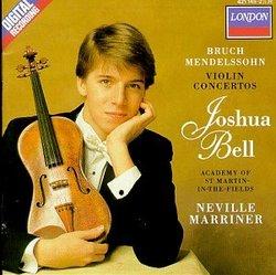 Bruch, Mendelssohn: Violin Concertos