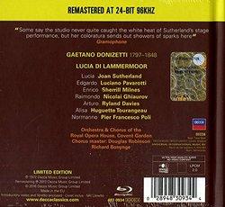 Donizetti: Lucia Di Lammermoor [2 CD/Blu-Ray Combo]