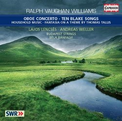 Vaughan Williams: Oboe Concerto; Ten Blake Songs
