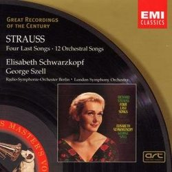 Strauss: Four Last Songs- 12 Orchestral Songs