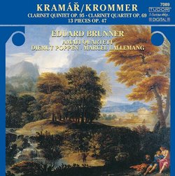 Clarinet Quintet in B-Flat Major Op 95